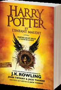 Harry Potter et l'enfant maudit,  parties un et deux – Le texte de la pièce