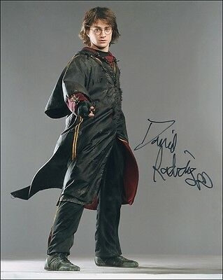 autographe harry potter