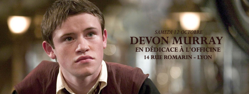 Devon Murray, l'interprète de Seamus Finnigan